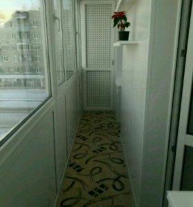 Лоджии и балконы (остекление, утепление, отделка)