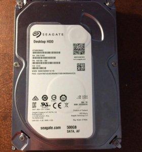Жёсткий диск на 500гб отличное состояние