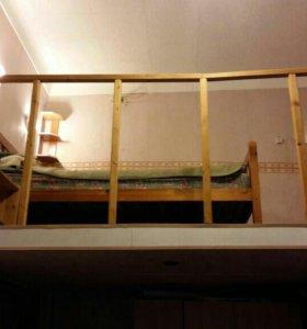 Комната 2 яруса, 17 м.кв 5 минут от м.Пушкинская