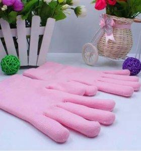 Гелевые увлажняющие SPA перчатки