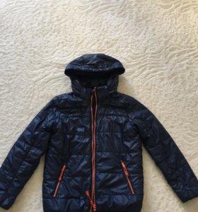 Курточка на мальчика весенняя рост 128 Demix