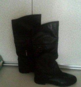 Кожаные сапоги Paolo Conte