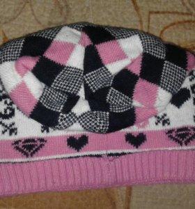 Женская шапка(весна-осень)