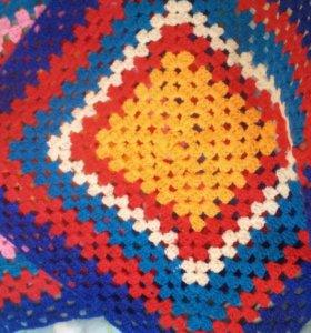 Накидка на табурет, декоративная салфетка