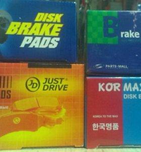 Колодки для Hyundai Solaris и KIA Rio 3