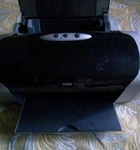 Цветной фото принтер
