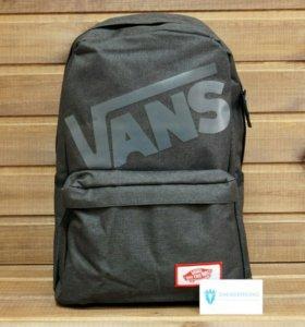Рюкзак Vans, текстильный, черный