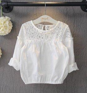 Блуза хлопок7-10 лет