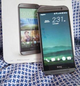 HTC One m8 16gb ростест полный комплект