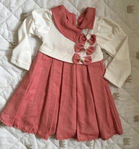 Новое платье 92-98