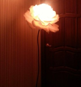 Торшер-роза