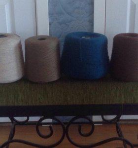 Пряжа для вязания полушерсть