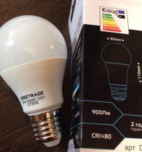 Светодиодная лампа Груша Е27 10W