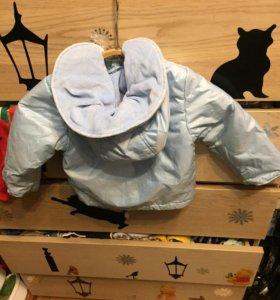 Комплект куртка комбинезон