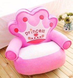 Детское кресло, пуф, кресло в детскую, новое