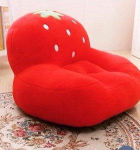 Детское кресло, кресло в детскую, пуф, новое
