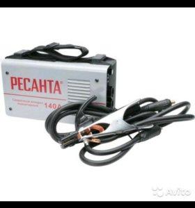 Сварочный аппарат инвертор Ресанта саи 140 (новый)