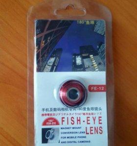 """Камера """"рыбий глаз"""""""