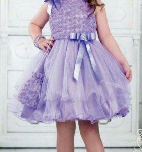 Платье на рост 110 см