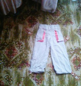 Летнии штаны ( или размер 111-116 ,6 лет )