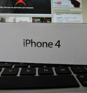 Коробка iphone 4/5s