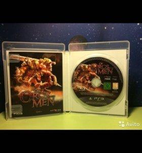Игра на ps3 Of Orcs Men
