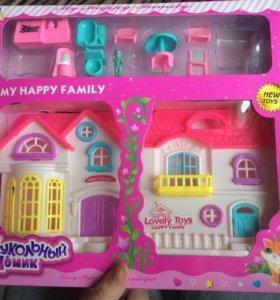 Кукольный дом my happy family
