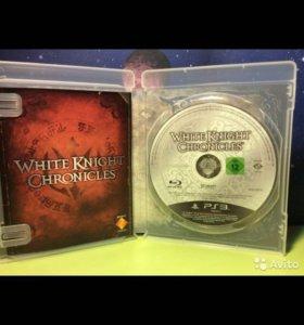 """Игра для PS3 """" White Knight Chronicles """" как новая"""