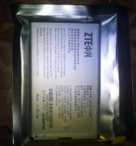 Аккумулятор 4g роутера ZTE mf90+