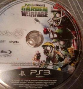 Plants vs zombie на PS3