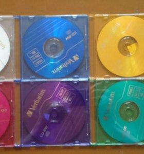 Диски CD-R, CD-RW (БОЛВАНКИ) ЧИТАЙТЕ.ОПИСАНИЕ!!!!