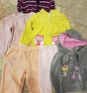 Вещи для девочки на 2 года