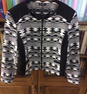 Блуза, пиджак