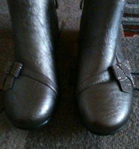 Осенние ботиночки для девочки 33-34