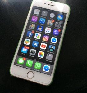 iPhone 6 16гб белый серебро