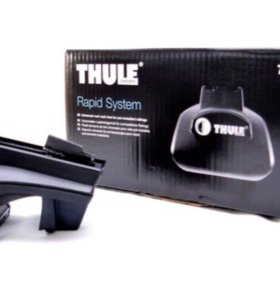 Упоры Thule Rapid System 757 авто с рейлингами