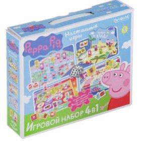 Игровой набор Пеппа 4в1