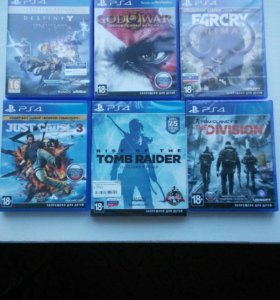 Игры Playstation 4 (возможна отправка почтой)
