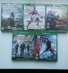 Игры для Xbox One (Новые запечатанные игры) почта!