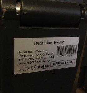 Компьютер mini pc x26-i5G + монитор с тач-скрином