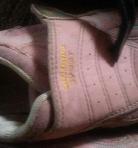 Много обуви для девочки.25-33р