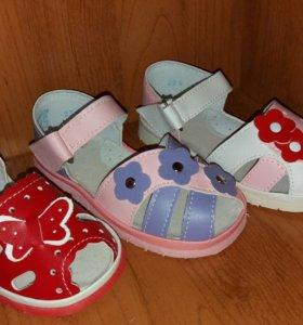 Отличные новые сандали