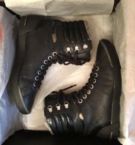 Ботинки мужские зима Hugo Boss натур.мех размер 40