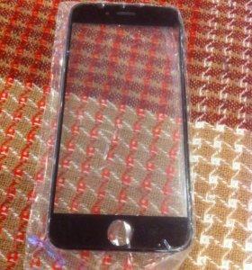 Стекло экрана на iPhone 6 - 6s