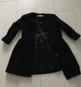 Пальто для девочки 104-110