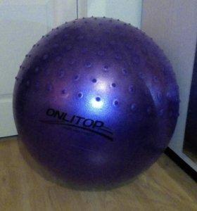 Гимнастический мяч. Новый.