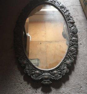 Старинное зеркало сталинских времен