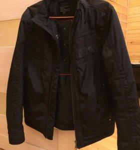 Куртка мужская чёрная размер 44-46
