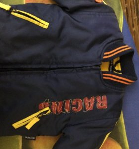 Детская куртка-бомбер, рост 68