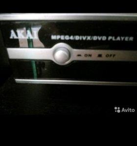 DVD проигрыватель новый